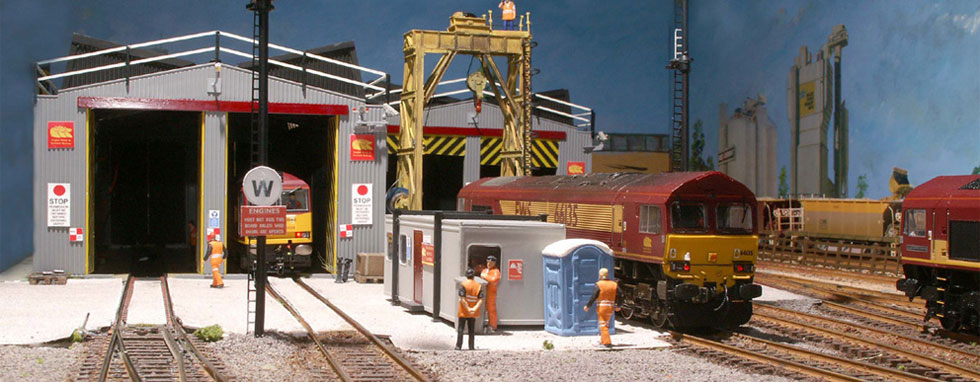 A blend of products and accessories that will aid in constructing a realistic layouts - click above for more....