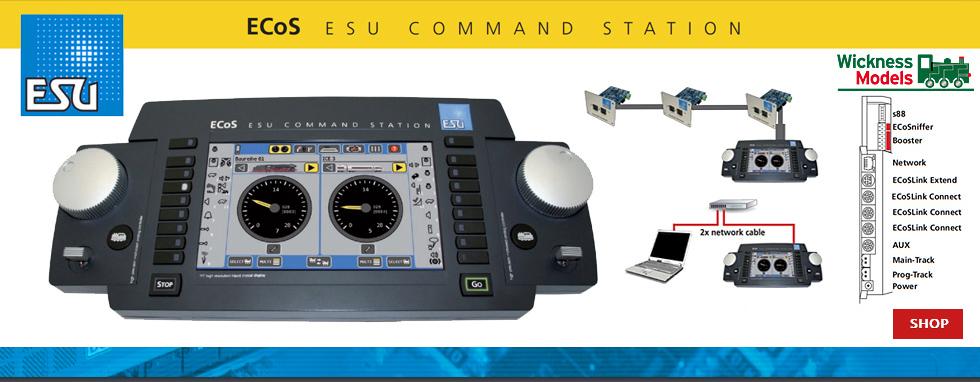 ESU 50200 ECoS 2 DCC Controller