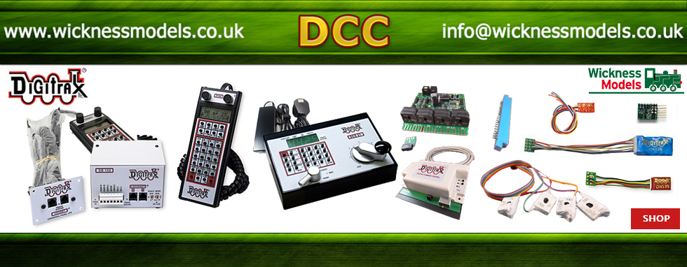 Digitrax Controllers and Accessories - click above for more -