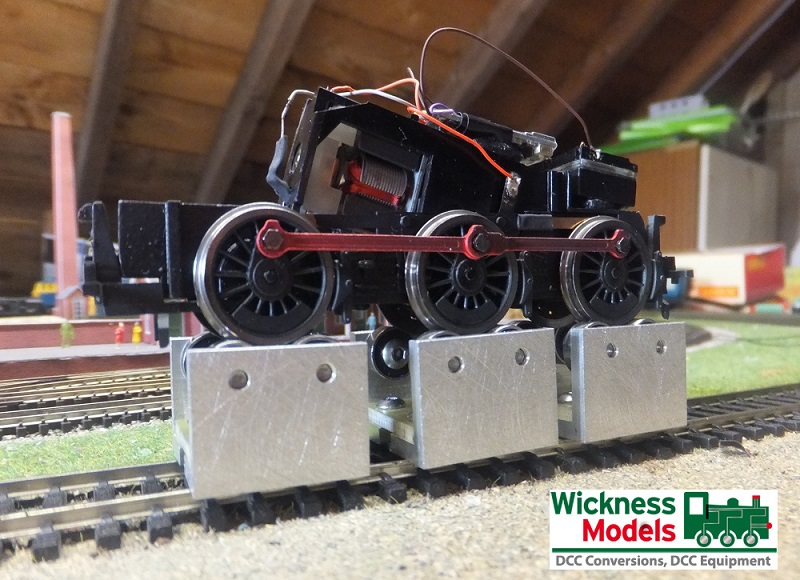 165mm Oo Gauge Rolling Road Set Of 4 Blocks Wickness Models